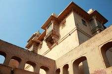 Free Structures Inside Amber Fort, Near Jaipur, India Royalty Free Stock Photo - 14665145