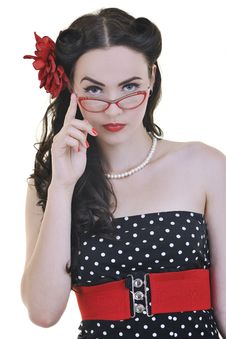 Pinup Fashion Stock Photos