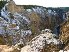 Free Lower Falls Grand Canyon Yellowstone Royalty Free Stock Images - 14665899