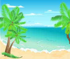 Free Tropical Beach Stock Image - 14666071