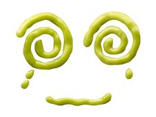 Free Mustard Smiling Face Stock Images - 14667014