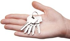 Free Key In Hand Royalty Free Stock Photography - 14667177