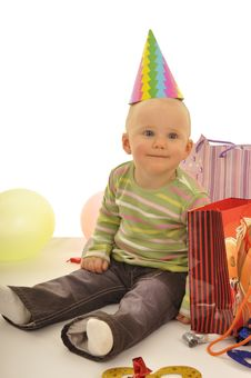 Free My First Birthday Royalty Free Stock Image - 14667326