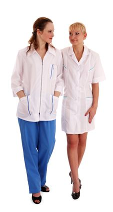 Free Doctor And Nurse Stock Image - 14668211