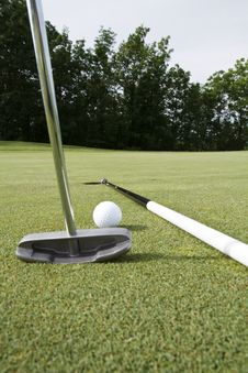 Free Cheater S Putt Stock Image - 14668311
