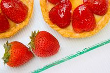 Free Strawberry Tarts Stock Photo - 14668420