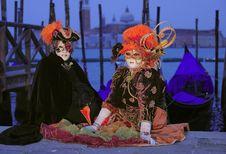 Free Venice Carnival Festival Royalty Free Stock Photos - 14668818