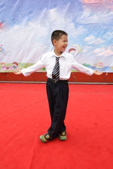 Free A Happy Boy On Children S Day Royalty Free Stock Photos - 14669078