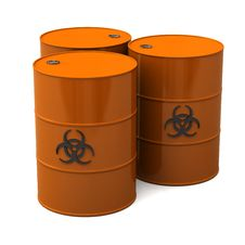 Free Biohazard Barrels Royalty Free Stock Images - 14669169