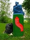 Free Overcrowded Litter Bin Stock Photos - 14671493