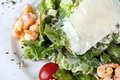 Free Salad  Caesar  With Shrimps Stock Photo - 14672850