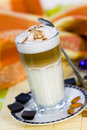 Free Coffee Latte Macchiato In A Glass Royalty Free Stock Photography - 14673037