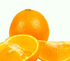 Free Orange And Orange Segments Royalty Free Stock Photo - 14670375