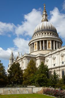 Free Saint Paul S Cathedral In London Stock Images - 14670604