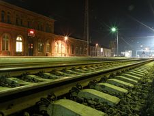 Free Rail Station Royalty Free Stock Photo - 14671335