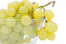 Free Bowl Of Grapes. Royalty Free Stock Image - 14671416
