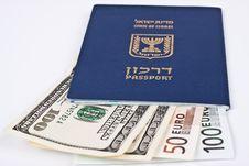 Free Israeli Passport Royalty Free Stock Photography - 14671527