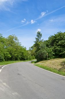 Free Rural Road On Bright Sunny Day Royalty Free Stock Photo - 14671545