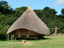 Free Iron Age Village Reconstruction Stock Photography - 14671892