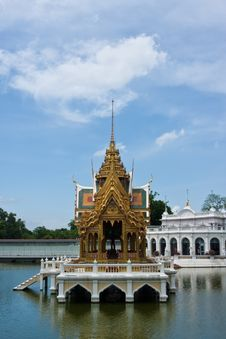 Free Bang Pa-in Palace Royalty Free Stock Photos - 14672978