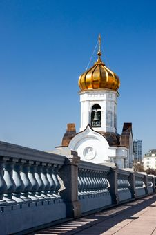 Free Bell Tower Of Cathedral Of Christ The Saviour Stock Photos - 14673213