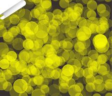 Free Magic Golden Bubbles Abstract Background Royalty Free Stock Photography - 14673647