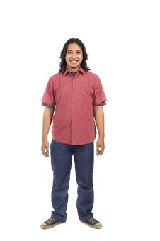 Free Long Hair Man Royalty Free Stock Photography - 14673817