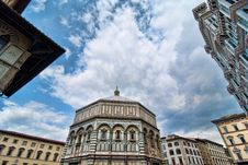 Piazza Del Duomo, Florence Royalty Free Stock Image