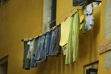 Free Venetian Laundry Stock Image - 14673941