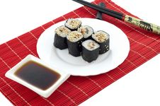 Free Sushi And Chopsticks Stock Photo - 14674260