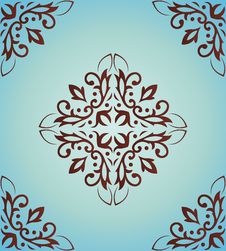 Free Classical Pattern A Seamless Royalty Free Stock Photos - 14674938