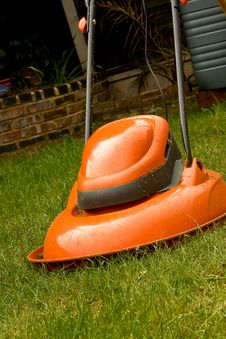 Hover Lawn Mower Stock Photography