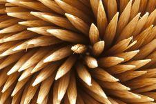 Free Plain Wooden Toothpicks Royalty Free Stock Photo - 14675985
