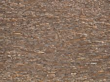 Texture/background: Wall Of Ancient Anasazi Ruins Stock Photography
