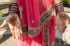 Free Henna On Hand Stock Images - 14676464