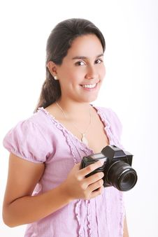 Free Camera Royalty Free Stock Photography - 14676567