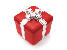 Free Red Gift Box Royalty Free Stock Photos - 14676998