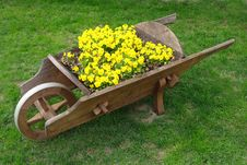 Free Wheelbarrow Stock Image - 14677311