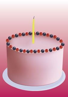 Free Birthday Cake Stock Photography - 14677832