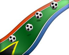 Free Football South Africa 7 Royalty Free Stock Photos - 14678058