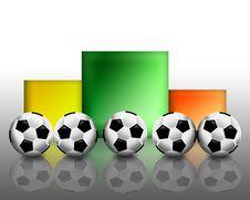 Free Football Winning Stand Royalty Free Stock Image - 14678166