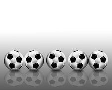 Free Football Reflection Royalty Free Stock Photos - 14678168