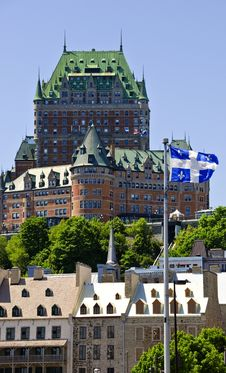 Free Quebec City Castle Royalty Free Stock Images - 14678969