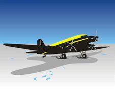 Free Ski Plane Stock Image - 14679011