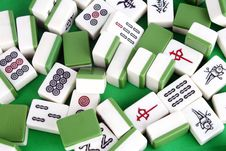Free Mahjong Royalty Free Stock Image - 14679216