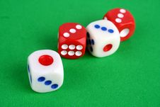 Free Mahjong Dices Stock Images - 14679234