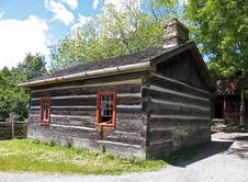 Free Pioneer Log Cabin Royalty Free Stock Photography - 14679237