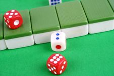 Mahjong Royalty Free Stock Photos