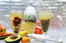 Vietnamese Smoothies Royalty Free Stock Photography