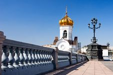 Free Bell Tower Of Cathedral Of Christ The Saviour Stock Image - 14679441
